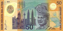 * MALAYSIA 50 RINGGIT 1998 P-45a UNC COMMEMORATIVE [MYNP101a] - Malaysia