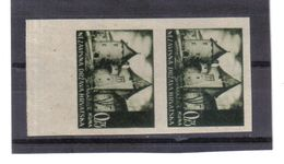 GUT1213  KROATIEN  (HRVATSKA) 1941 MICHL 46 U Geschnitten Im PAAR (*) OHNE GUMMI Siehe ABBILDUNG - Kroatien
