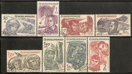 Czechoslovakia 1964 Mi# 1463-1470 Used - World's First 10 Astronauts / Space - Space
