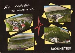 En Avion Au-dessus De ... MONNETIER Multivues (Lapie) - France