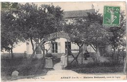 ANNET --Maison BREVARD ,route De Lagny - France