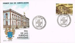 25360. Carta Exposicion BARCELONA 1986. Expotronica. Dia De Fuerzas Armadas - 1931-Hoy: 2ª República - ... Juan Carlos I