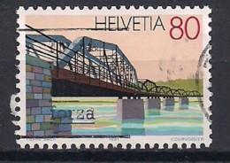 YT N° 1380 - Oblitéré - Ponts - Suiza