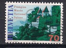 YT N° 1575 - Oblitéré - Anniversaires - Suiza