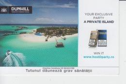 Dunhill Cigarettes Ticket Voucher Promotion - Tickets - Entradas