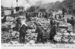 """62- Boulogne-sur-mer,Le Triage Du Poisson Et Dunkerque ,Pêcheurs De Harengs 4 Scans""""cartes D'autrefois"""" - Boulogne Sur Mer"""