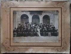 Ancienne Photo Mariage - Mairie De Passy - Hte-Savoie - Servoz - Lieux