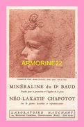 BUVARD  Des Laboratoires Mauchant GENNEVILLIERS  Mineraline Du DR BAUD  Leonard De Vinci - Droguerías