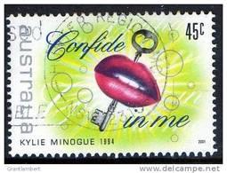 Australia 2001 Rock & Pop Music 45c Confide In Me - Kylie Minogue 1994 Used - Gebraucht