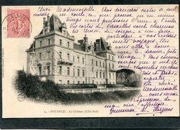 CPA - POUANCE - Le Château  (dos Non Divisé) - France