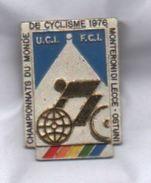 Championnats Du Monde Cyclisme 1976 Pins Ciclismo Monteroni Di Lecce Ostuni Bertoni - Ciclismo