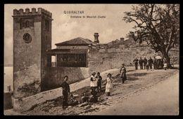 Posted At Sea Cancel   Moorish Castle  Gibraltar Ref 2673 - Gibraltar