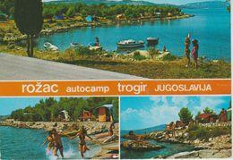 (CRO116) ROZAC AUTOCAMP TROGIR - Croatia