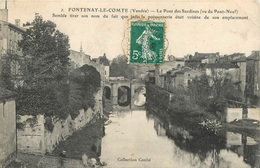 CPA Fontenay Le Comte-Le Pont Des Sardines    L2340 - Fontenay Le Comte