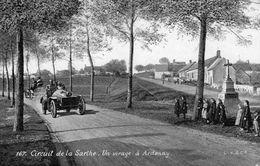Circuit De La Sarthe  -  Un Virage à Ardenay  -  CPA - Le Mans