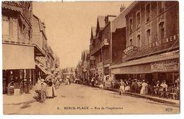 BRECK-PLAGE: Rue De L'Impératrice - Berck