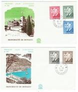 Monaco // FDC // 1981 // Effigie Du Prince Albert Et Rainier III - FDC