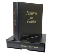 TROIS Albums FUTURA FRANCE, étuis + Reliures I,II,III, YVERT ET TELLIER TTB - Alben Leer