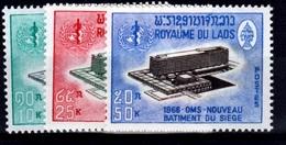Laos, World Health Organization, 1966, MNH VF - Laos