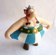 FIGURINE ASTERIX PLASTOY 2007 OBELIX TIRE SES POCHES (2) - Asterix & Obelix