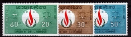 Laos, Human Rights, 1968, MNH VF - Laos