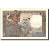 France, 10 Francs, 10 F 1941-1949 ''Mineur'', 1949, 1949-04-07, KM:99f, SUP - 1871-1952 Circulated During XXth