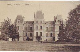CPA -  GUIPY - Le Château - France