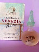 VENEZIA PASTELLO   LAURA BIAGIOTTI  -  EAU DE TOILETTE  5 ML - Miniatures Modernes (à Partir De 1961)