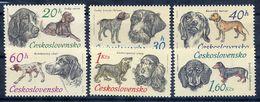 CZECHOSLOVAKIA 1973 Hunting Dogs Set MNH / **.  Michel 2154-59 - Dogs