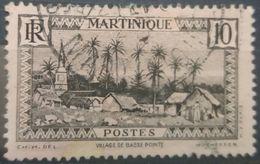 MARTINIQUE 1940 VILLAGE DE BASEE POINTE - Martinique (1886-1947)