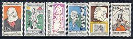 CZECHOSLOVAKIA 1968 Cultural Personalities Set  MNH / **.  Michel 1832-38 - Czechoslovakia