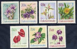 CZECHOSLOVAKIA 1967 Flowers From Botanic Garden Set MNH / **.  Michel 1724-30 - Czechoslovakia