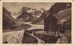 CHAMONIX - MONT-BLANC - LA MER DE GLACE (1909) - Chamonix-Mont-Blanc