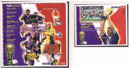 Soccer Football Nevis KB 1322/9 + Bl 157 1998 World Cup France MNH ** - World Cup