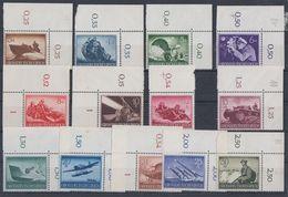 DR Minr.873-885 Postfrisch Mit OER, UER - Briefmarken