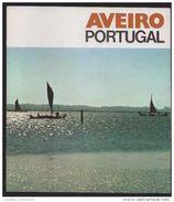 AVEIRO 1970 Years Tourism Propaganda Advert Magazine 10 Pg 20 Cm X 22,5 Cm 40 Images PORTUGAL - Aveiro