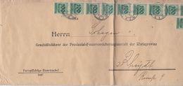 DR Brief Mif Minr.4x 275,20x 277,29x 290 Düsseldorf 3.10.23 - Deutschland