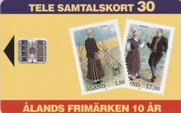 Aland, AX-ALP-0009, Stamps, 2 Scans. - Aland