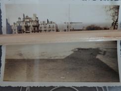44 SAINT NAZAIRE PHOTO RUINES APRES BOMBARDEMENTS PLACE MARCEAU CINEMA ATHENEE - Places