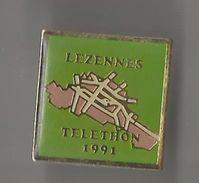 Pin´s Lezennes Téléthon 1992* - Steden