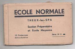 36372  -     Theux Lez  Spa  -  école Normale  Carnet  12  Cartes -  Série 2  -  Complet - Theux