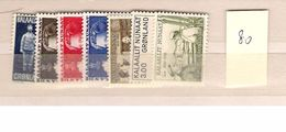 1980 MNH Greenland Year Complete, Postfris - Groenlandia