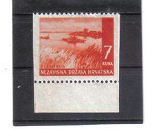 GUT1211  KROATIEN  (HRVATSKA) 1941 MICHL 58 Senkrecht Ungezähnt ** Postfrisch Siehe ABBILDUNG - Kroatien