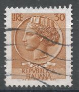Italy 1968. Scott #998H (U) ''Italia'' After Syracusean Coin. - 1961-70: Oblitérés