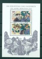 Allemagne  1994 - Michel Feuillet N. 28 - Carl Hagenbeck - [7] République Fédérale
