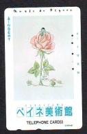 Télécarte Japon * 110-29858 * PEINTURE FRANCE * RAYMOND PEYNET (46)  Japan Painting Phonecard - Peinture
