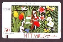 Télécarte Japon * FRONTBAR 110-11745 * PEINTURE FRANCE * RAYMOND PEYNET (48)  Japan Painting Phonecard - Peinture