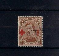 N°151 (ntz) GESTEMPELD GRIFFE Jette - 1918 Croix-Rouge