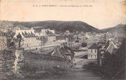 SAINT BRIEUC  Arrivée Au Légué Par La Vieille Côte - Saint-Brieuc