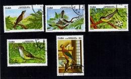 Correos Aves Endemicas. Cuba 1978 - Cuba